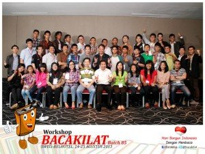 Workshop Bacakilat Angkatan 85